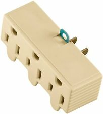 Cooper Wiring BP1147V 3 Outlet 3 Wire Grounded Adapter Ivory | eBay