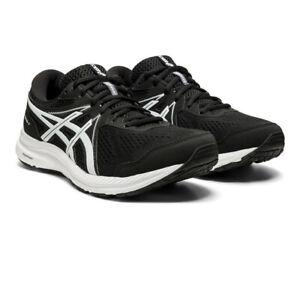 Asics Homme Gel-Contend 7 Chaussures De Course Baskets Sneakers Noir Blanc Sport