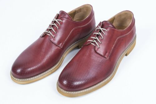 In Artisanat Micropore Italy Avec Lacets En Faible Cuir Chaussure Trentatr3 Made 65w6Yqf