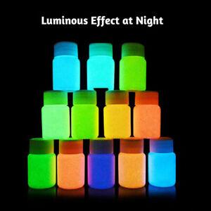 20g-12-Colors-Glow-in-Dark-Luminous-Paint-Pigment-Handmade-Painting-Tool-Efficie
