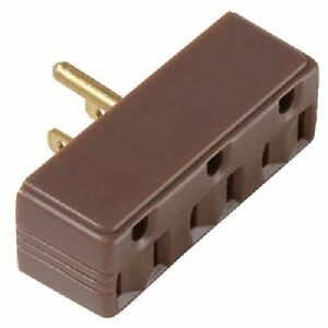 100 Pass Seymour 697CC20 15A 125V Brown Plug In 3 Way Electrical ...