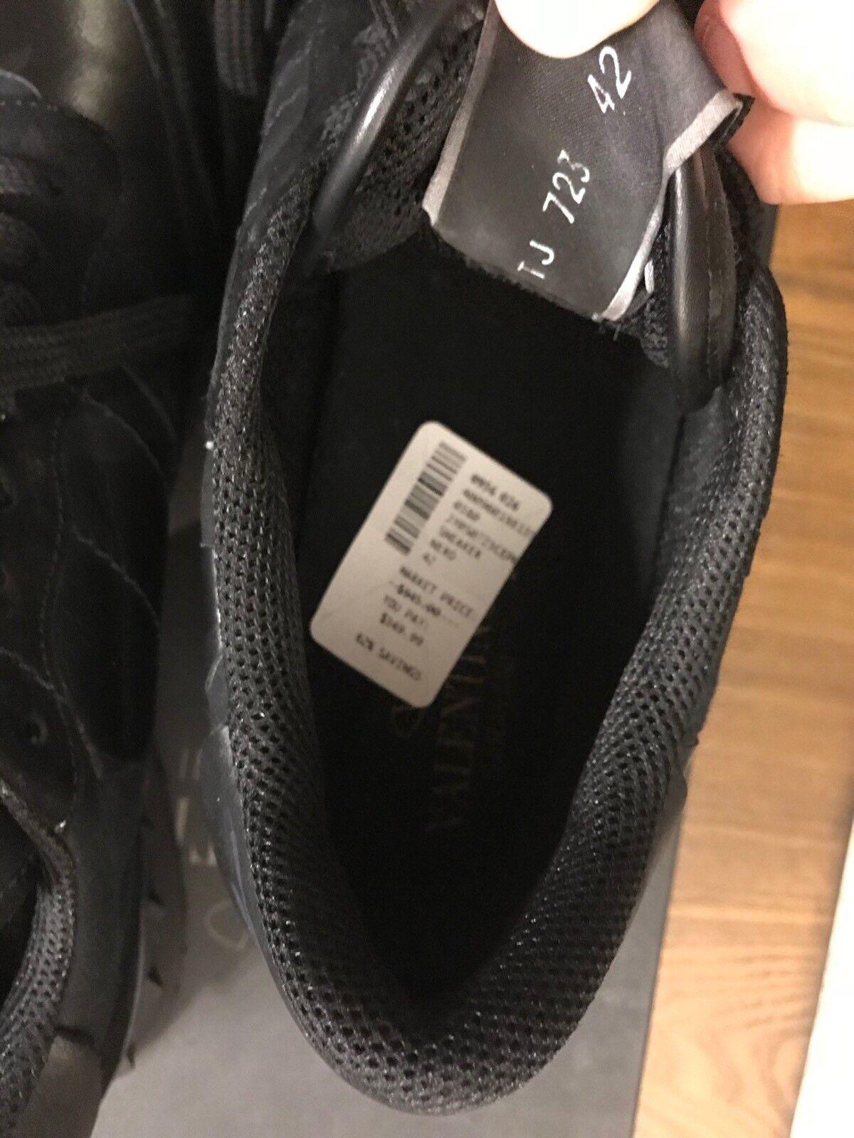 Nuevo Camuflaje Camo limitada Mirabilia Valentino rockrunner Negra Negra Negra De Hombre Zapato 9  995 8c1fca