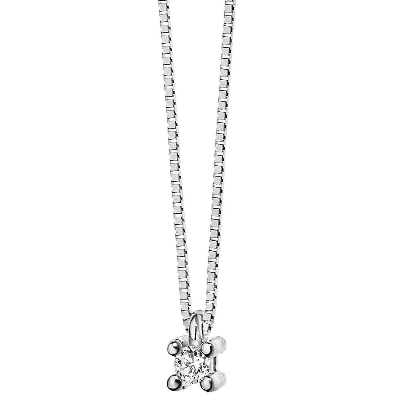 Collana donna gioielli Comete Punto luce elegante cod. GLB 982 982 982 1ed824