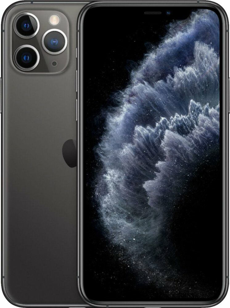 Apple iPhone 11 Pro 64GB Space Gray LTE Cellular AT&T MW9C2LL/A