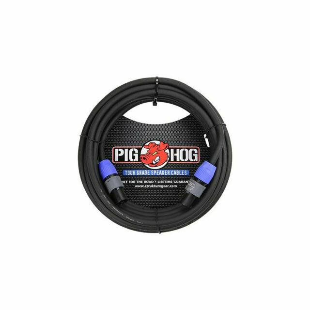 Strukture Pig Hog PHSC25SPK 14-Gauge Wire Speakon to Same Speaker Cable 25ft