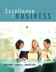 Excellence in Business by Michael H. Mescon, Courtland L. Bovee, John V. Thill (Hardback, 2006)