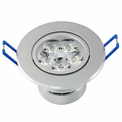 Dimmable 9/12/15W LED Ceiling Recessed Lamp Down Lights Warm/Day White w/ Driver