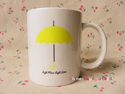 TV Serious How I Met Your Mother Right Place Right Time Umbrella Mug Coffee Cup