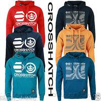 "Mens Crosshatch Sweatshirt Hooded Hoodie ""addswo "" Fleece Pullover Summer Casual"