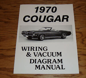 1970 Mercury Cougar Wiring      Vacuum       Diagram    Manual 70   eBay