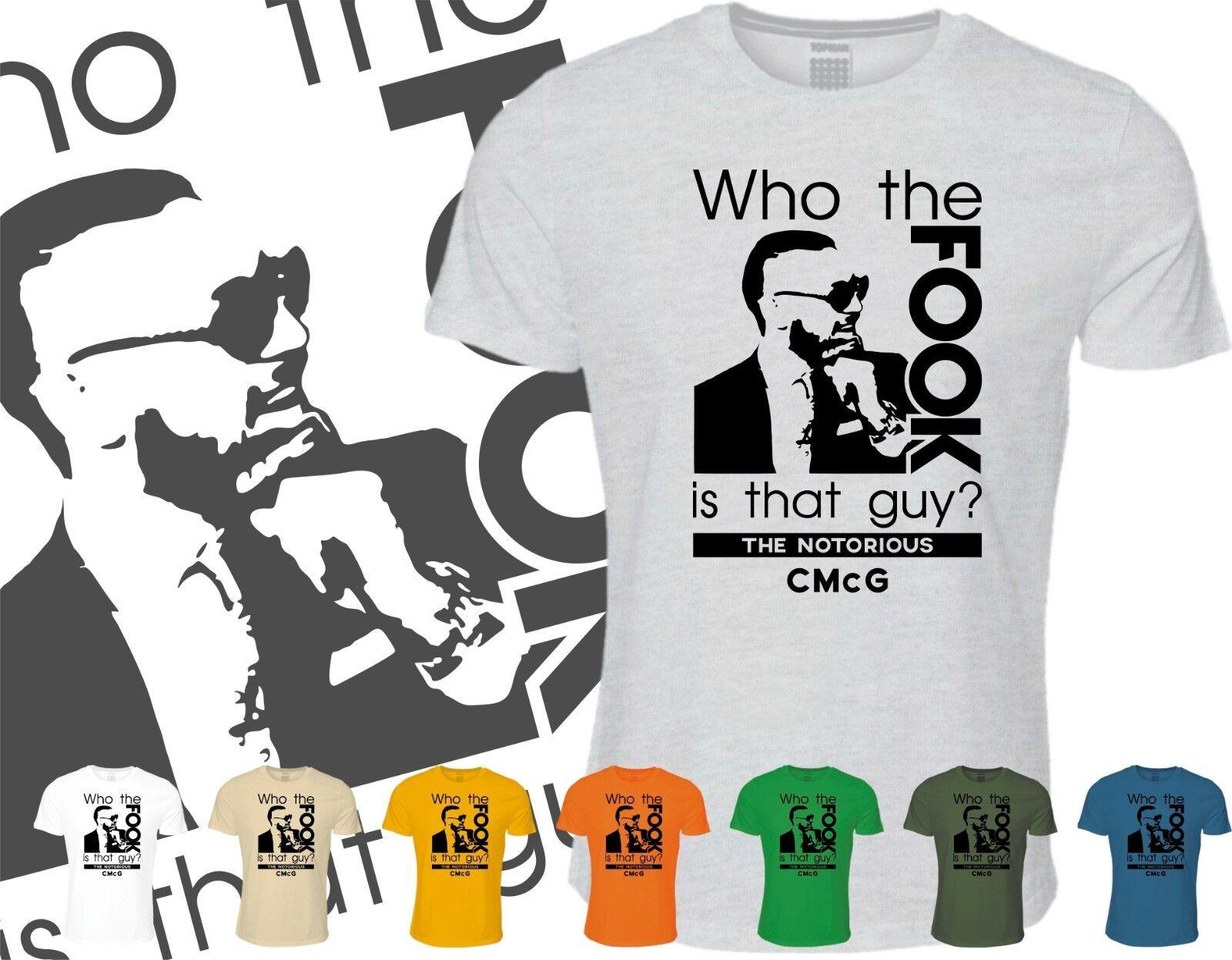 Conor mcgregor le qui le mcgregor fook est que guy t-shirt mma ufc 205 célèbre champion 6aa710