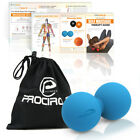 Peanut Mobility Lacrosse Ball Self Massage Ball Physio Pain Relief Tool