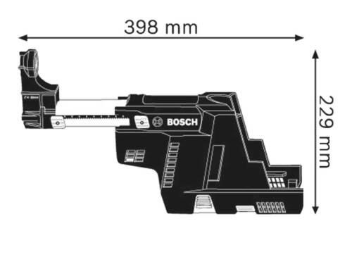 Bosch GDE 18 V-16 sans fil professionnel et moteur Poussière arrache