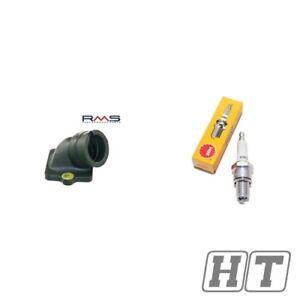 Ansaugstutzen-inkl-Zuendkerze-B9ES-fuer-Piaggio-Hexagon-125-150-SKR-LXT-LX