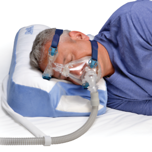Contour-CPAP-Mask-Pillow-4-039-039-inch-Standard-for-Sleep-Apnea-2-yr-Warranty
