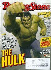 2015 Rolling Stone Magazine: The Hulk/George Clinton/Game of Thrones/Joan Jett