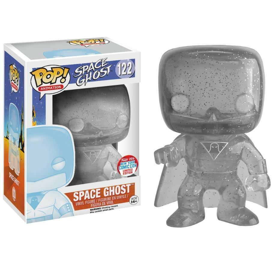 EXCLUSIVE NYCC SPACE GHOST GHOST GHOST 3.75  POP ANIMATION VINYL FIGURE FUNKO 5fee1f