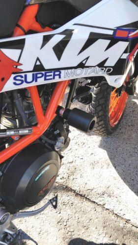 KTM 690 ENDURO /& SMC CRASH MUSHROOMS FRAME SLIDERS PROTECTORS BOBBINS KNOB  R8A3