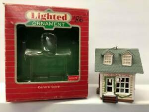 Hallmark Lighted Ornament ~ General Store ~ With Box ...