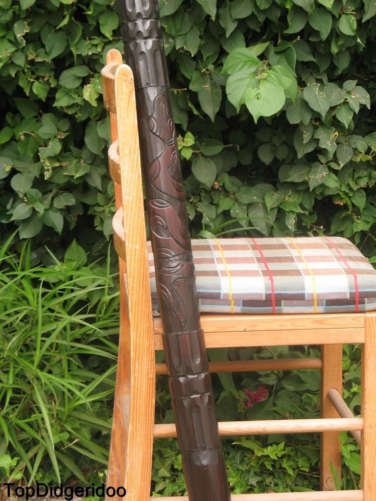 59  \ 150cm Didgeridoo Aborigin Tallado a Mano Mano Mano + Bolsa + Abeja Boquilla + World  apresurado a ver