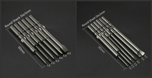 Fendue Phillips Hex Torx Star Triangle Tri Wing Y Pointe Tête Tournevis Bit Set