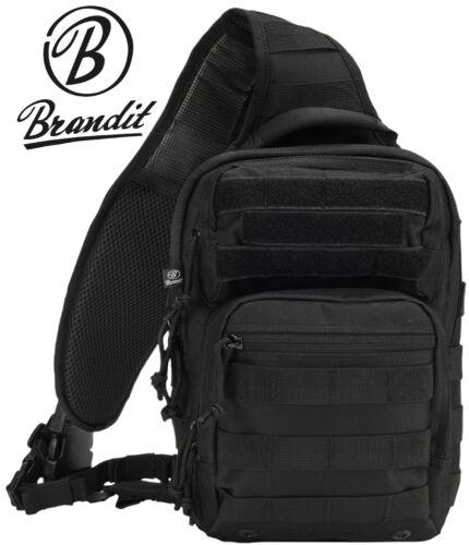 Brandit US Cooper Every Day Carry Sling Assault Sac à dos Sac à bandoulière noir