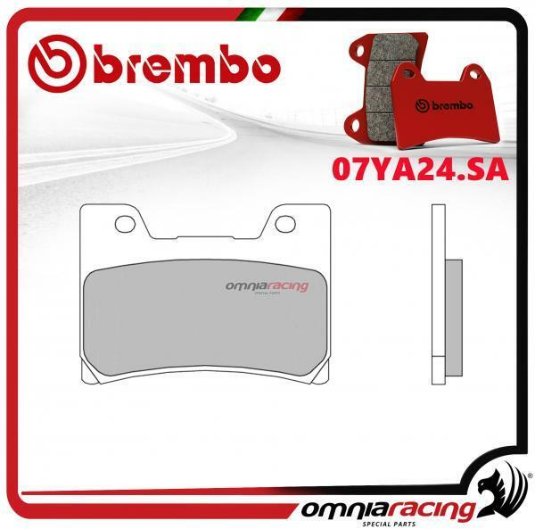 Brembo SA - pastillas freno sinterizado frente para Yamaha TDM850 1996>2001