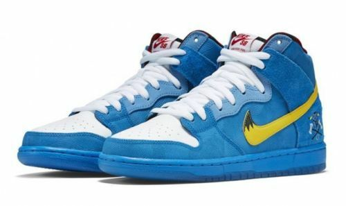 New Men's Nike Dunk High Premium SB Blue 313171 Ox Familia Size 11 313171 Blue 471 ac2868