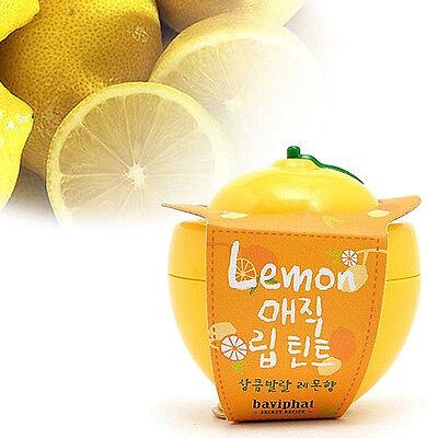 [BAVIPHAT] Lemon Magic Lip Tint 6g lemon flavor / Korea cosmetic