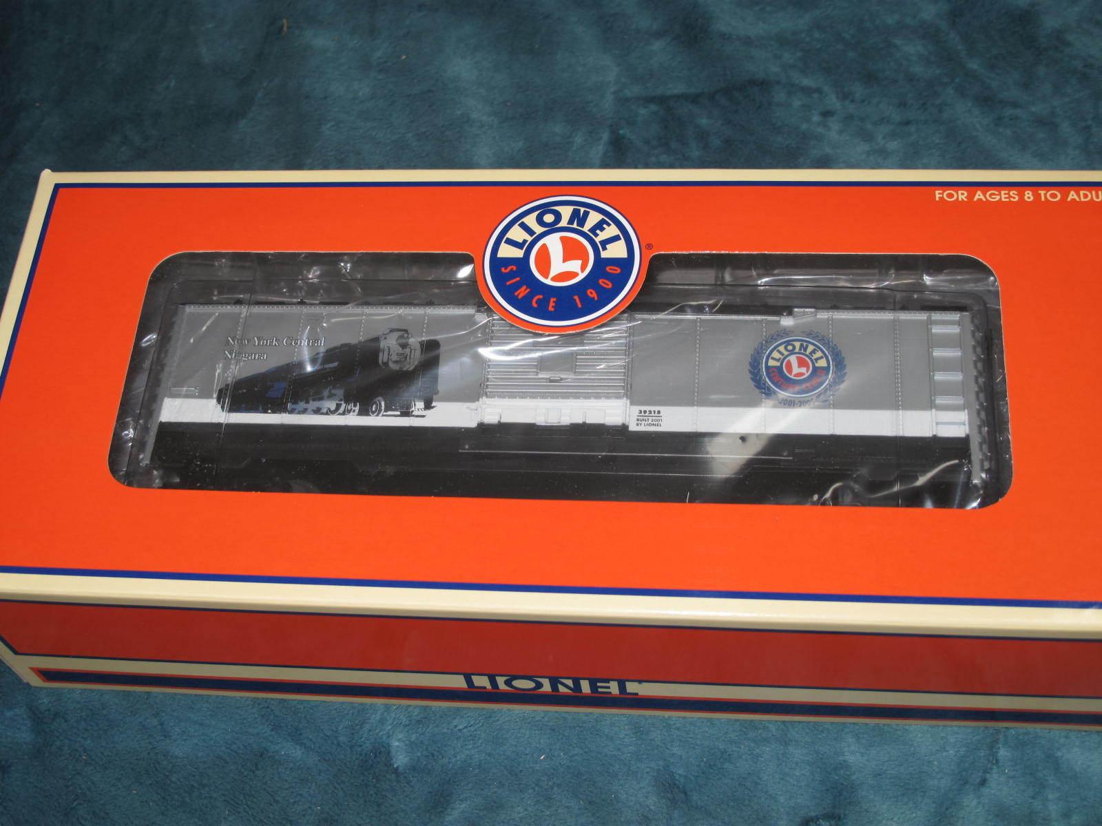 2001 Lionel 6-39215 Century Club II New York Central Niagara Box Car New L1806