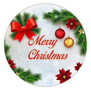 Christmas Stickers.Details About 24 Pack 40 Mm Premium Christmas Stickers Card Present Decorating Sealingch13