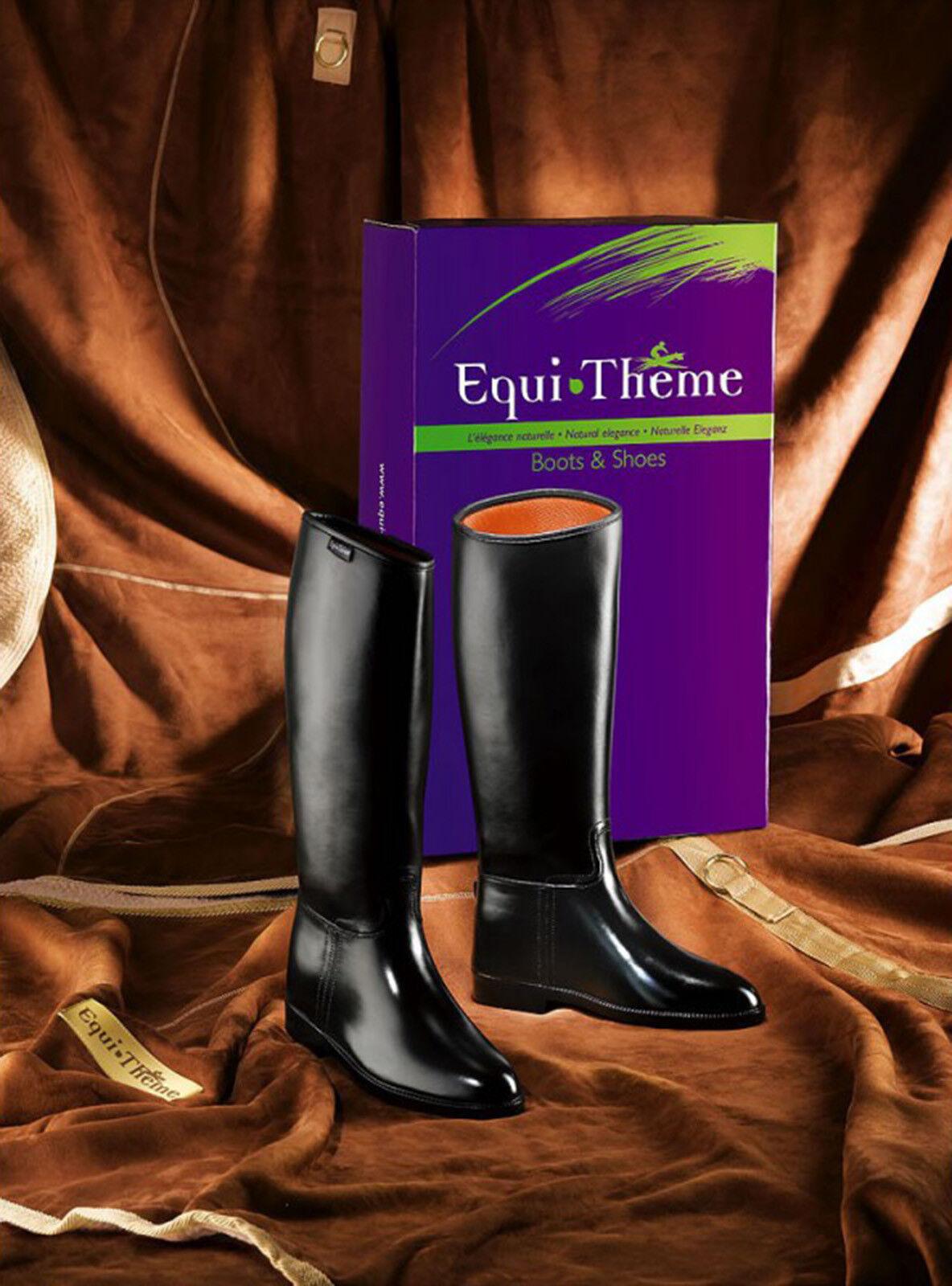 Equi Theme riding Stivali Stivali Stivali Stivali MONTALA TG 37 S (W 34,5 cm H 42 cm) | A Buon Mercato  | riparazione  edb753