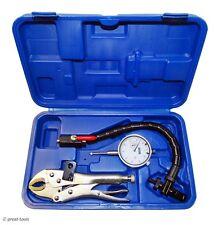 Dial Indicator Set Flex Arm With Locking Pliers Mount Brake Amp Rotor Inspection
