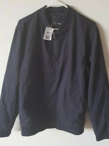 Mens-Bomber-Jacket-Size-Small