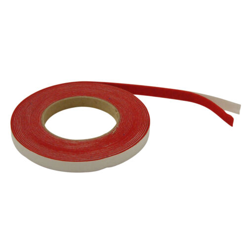 Red JVCC ACF-06 Acrylic Craft Felt Tape 1//2 in x 25 ft.