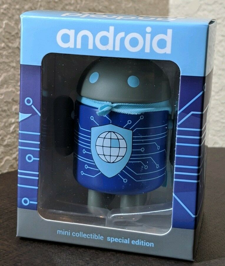 Eroid Mini Collectible cifra Figurine Google specialee -  Security  & Privacy   marchio famoso