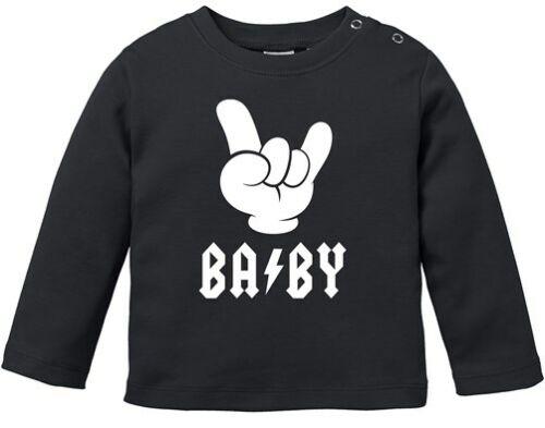 Baby Langarmshirt Babyshirt BABY Hardrock Heavy Metal Jungen Mädchen Shirt