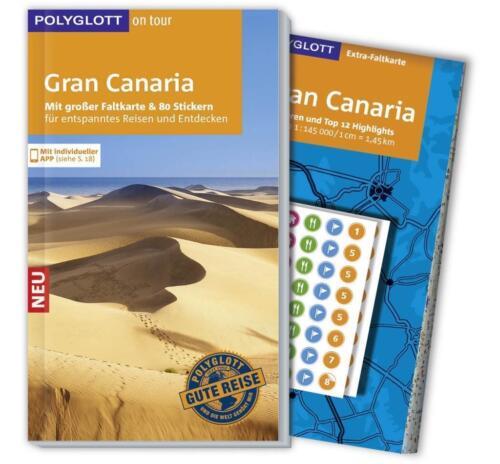 1 von 1 - POLYGLOTT REISEFÜHRER GRAN CANARIA 2015/16+Landkarte wie neu ungelesen PORTOFREI