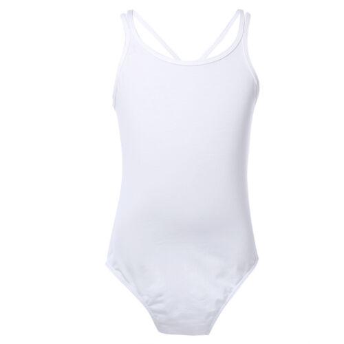 Girls Kids Tutu Ballet Leotard Dance Dress Ballerina Bodysuit Dancewear Costume