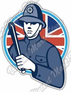 british london bobby police uk gift idea car bumper vinyl. Black Bedroom Furniture Sets. Home Design Ideas