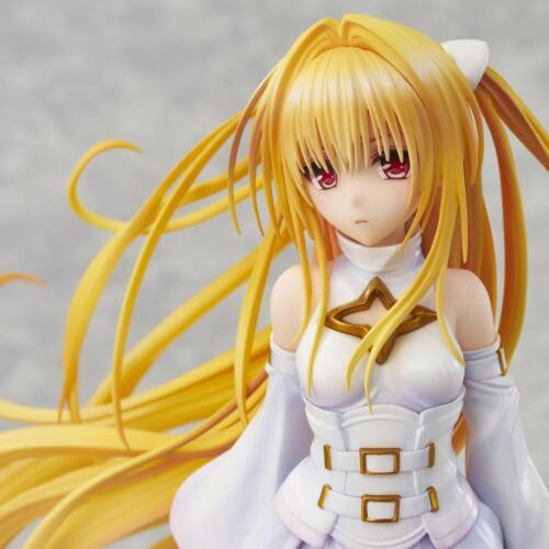 To LOVE Ru Trouble Darkness Konjiki no Yami white trans ver Figure 200mm JAPAN