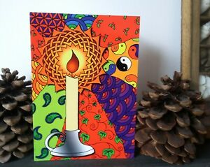 Celtic-Candle-Illustrated-Alternative-Yule-Christmas-Greetings-Card