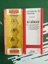 Sandvik Carbide Inserts Qty5 TCMW090204S01020E // 1.8 1.5 1 CB20 LOC2117A