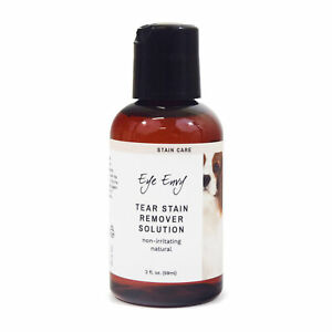 Eye Envy Tear Stain Remover for Dogs & Puppies All Natural Liquid Solution 2 oz