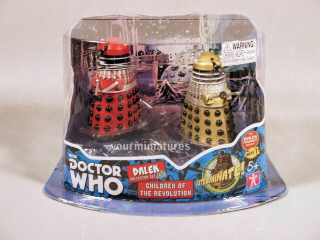 Underground Toys Doctor Who 3.75″ Dalek 2-Pack Dalek Collector Set #1