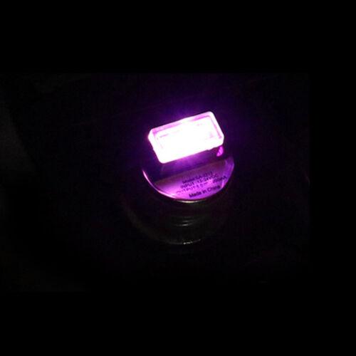 1PC Mini USB LED Light Car Interior Light Neon Atmosphere Ambient Lamp 5color