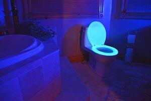 Night-Glow-Seats-Glow-In-The-Dark-Toilet-Seat-Blue-Regular-New-In-Box