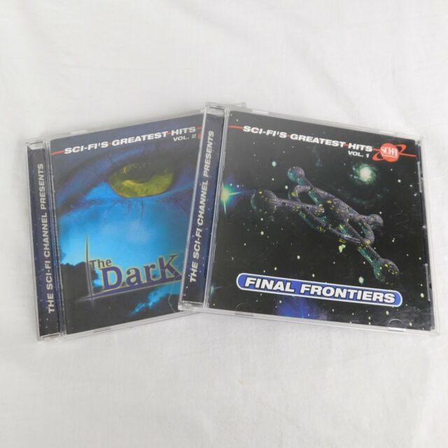 Set Of 2 CDs Sci-Fi's Greatest Hits Vol 1 Final Frontiers