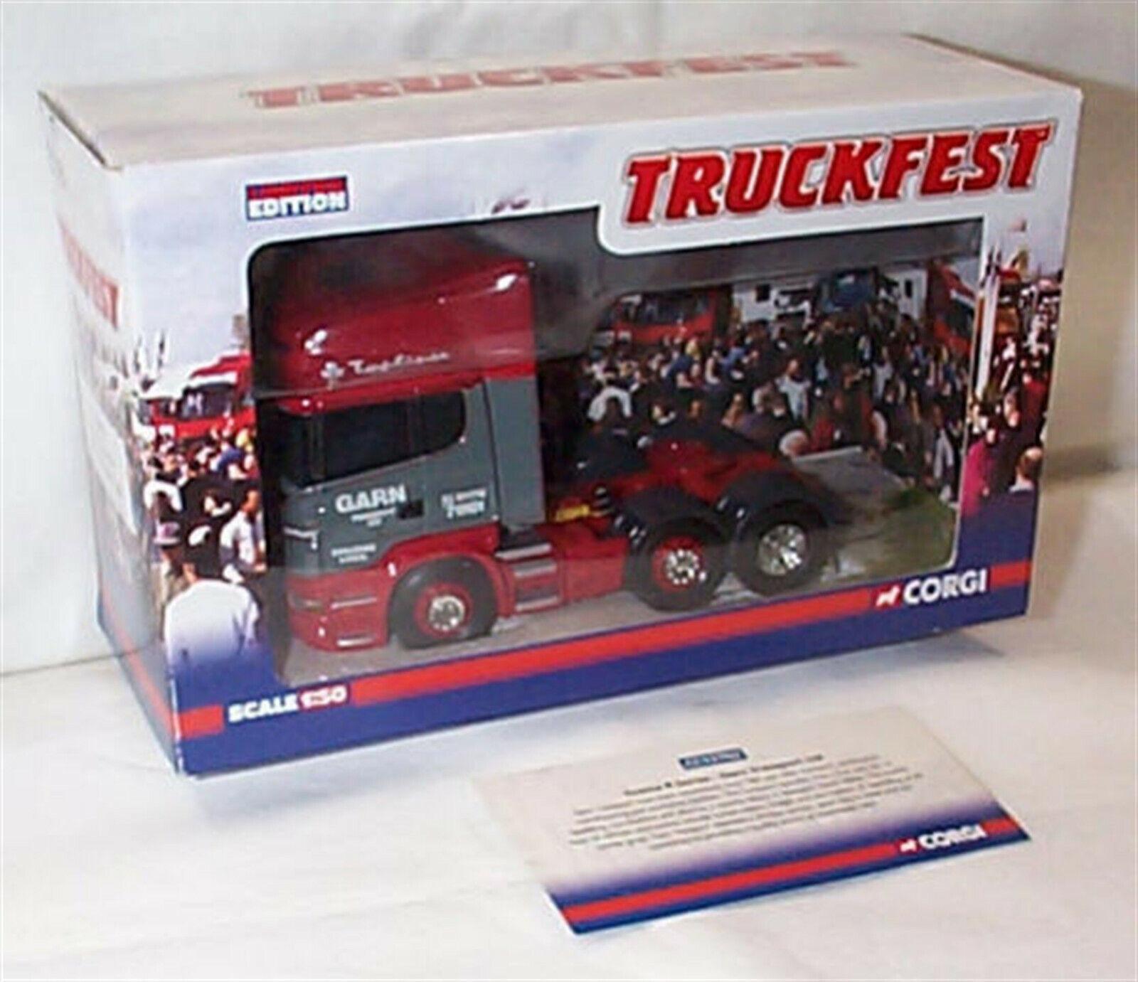 Scania R Series Tractor unit Garn Transport Ltd Ltd Ltd CC13702 New in Box Ltd Edition e6e496