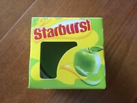 Starburst Green Apple Scented Candle & Glass Holder - New & Boxed